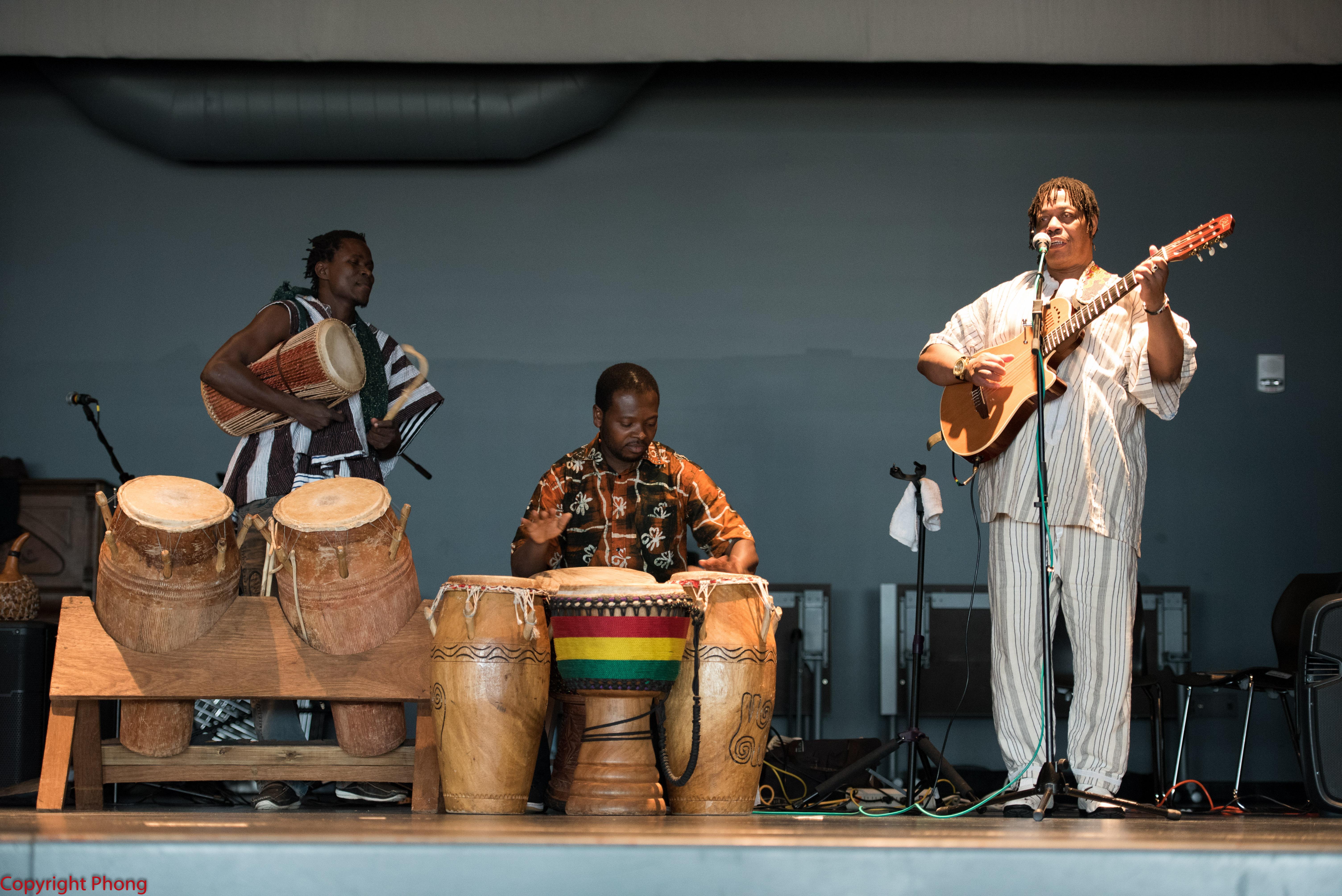 Ghanian Drummers